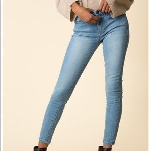 Current/Elliot High Waisted Stiletto Richland Jean